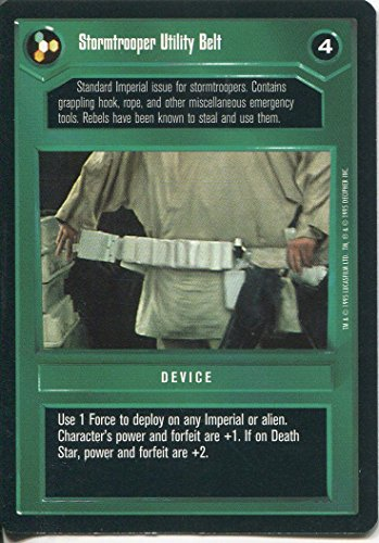 Star Wars CCG Premiere Black Border Stormtrooper Utility Belt (Stormtrooper Utility Belt)