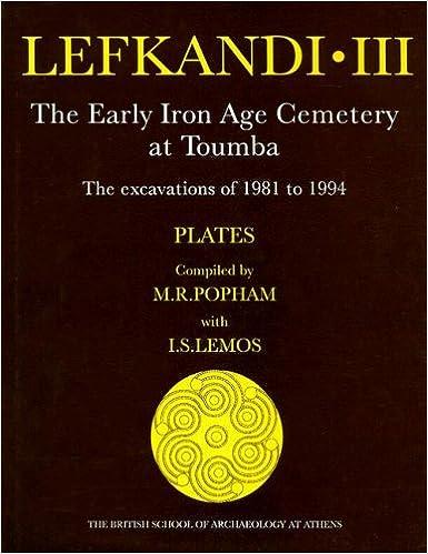 Lefkandi III (plates) (Supplementary Volume)