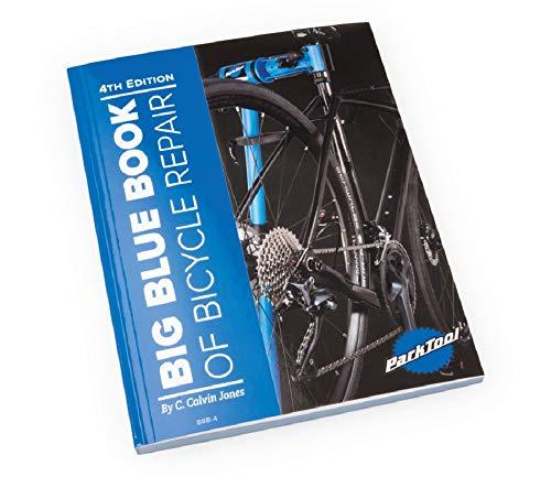 Park Tool Big Blue Book of Bicycle Repair - 4th Edition (Bike Repair Book)