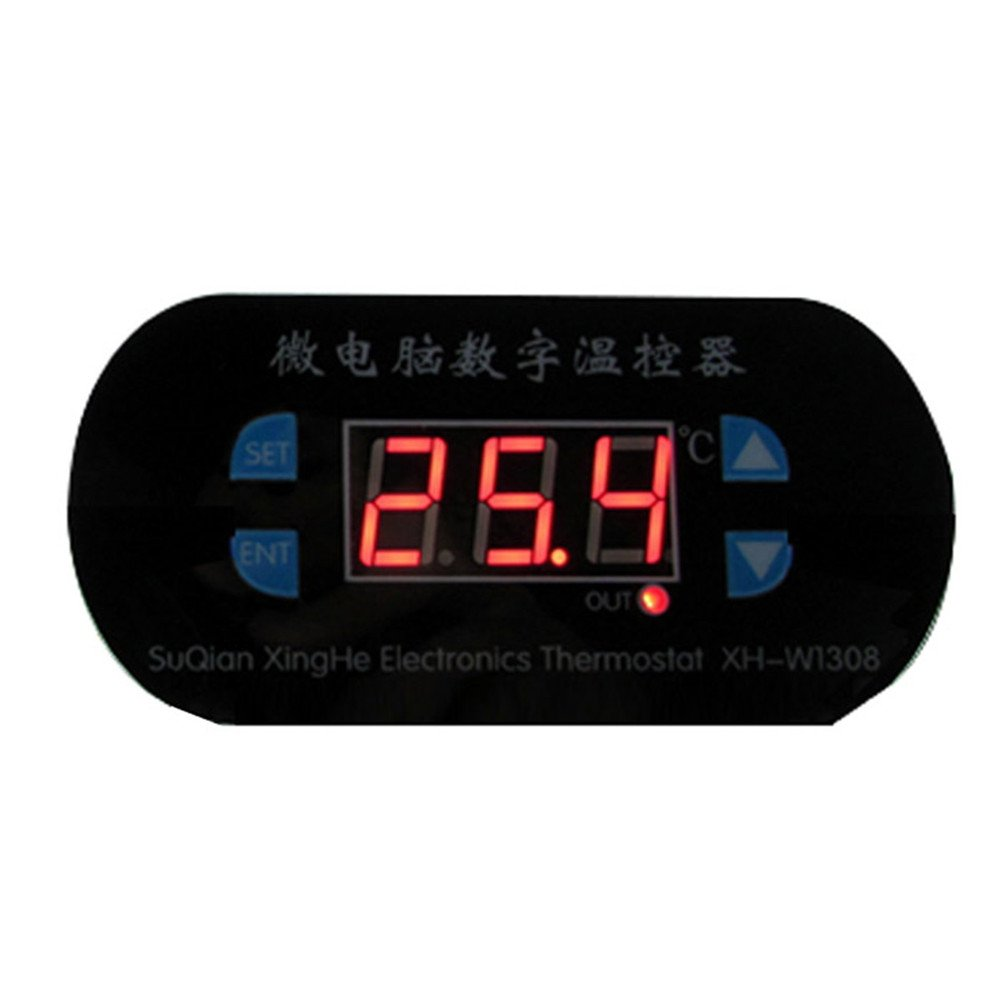 Microcomputer Digital Thermostat -55 To 120 ℃ Digital Temperature Controller Board12V Thermostat Switches Red Display