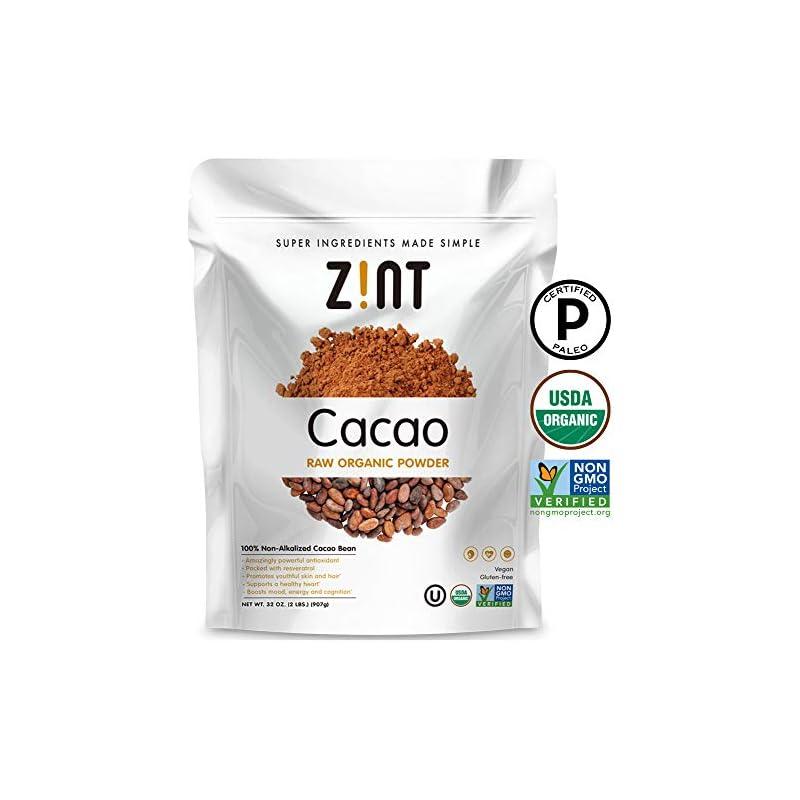 Zint Organic Cacao Powder (32 oz): Paleo