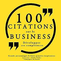 100 citations sur le business : Développer ses compétences
