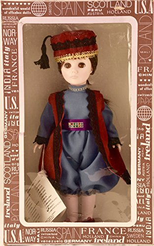 1983 - Effanbee Dol Corp - Item #1128 - International Series - Turkey 11 Inch Vinyl Doll - Traditional Dress - OOP - New - Mint - Collectible