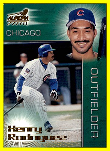 1998 Pacific Aurora #115 Henry Rodriguez chicago cubs ()