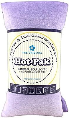 Rouge Soframar Hot-Pak Bandeau Bouillotte