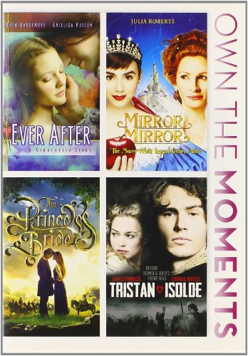 Ever After / Mirror Mirror / The Princess Bride / Tristan & Isolde Quadruple Feature (Ever After Movie Dvd)