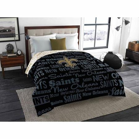 - The Northwest Company NFL New Orleans Saints Anthem Twin/Full Bedding Comforter