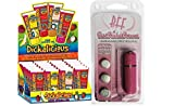 Bundle Package Of Dickalicious (24/DP) AND a bff Waterproof Vibrating Bullet Pink