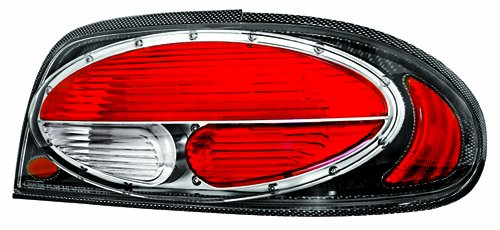 IPCW CWT-CE1102CF Crystal Eyes Carbon Fiber Tail Lamp - Pair - Eye Tail Light Carbon Fiber