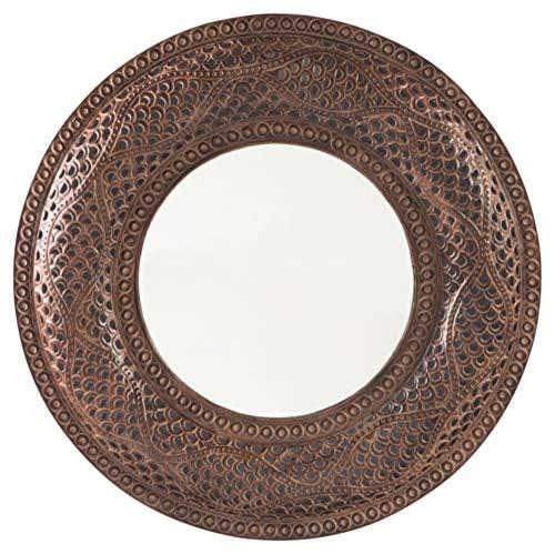 Signature Design by Ashley A8010158 Elikapeka Accent Mirror, Antique ()