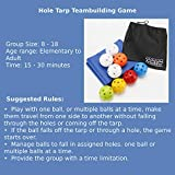 Artoflifer Hole Tarp Team Building Game