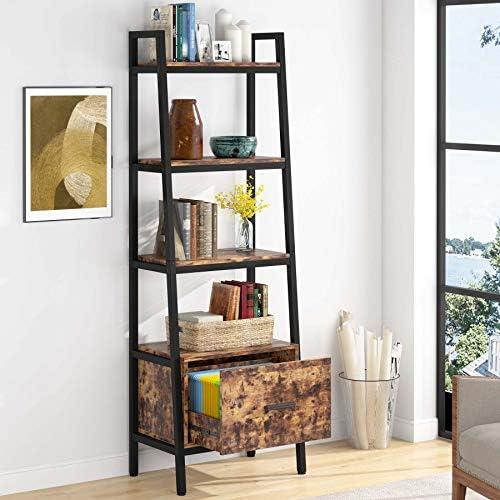 Best modern bookcase: TIYASE Bookcase Modern Bookcase