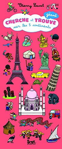 Cherche Et Trouve G'Ant Sur Les 5 Continents (English and French Edition) PDF