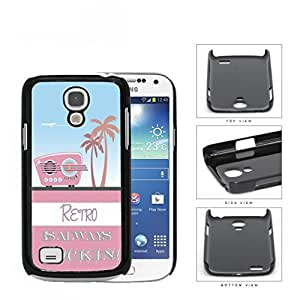 Retro Is Always Rockin Pink Radio Hard Plastic Snap On Cell Phone Case Samsung Galaxy S4 SIV Mini I9190