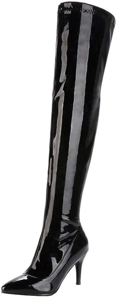 Lydee Women Fashion Stiletto Heels Long Boots