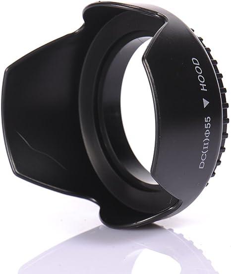 Parasol Universal 72mm negro para Minolta