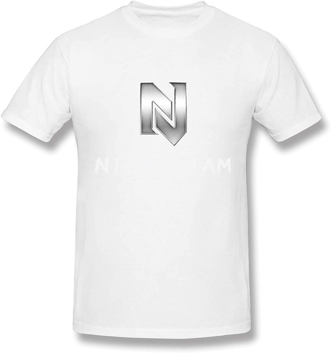 Camisetas Blancas de algodón Nicky Jam Design para Hombre: Amazon ...