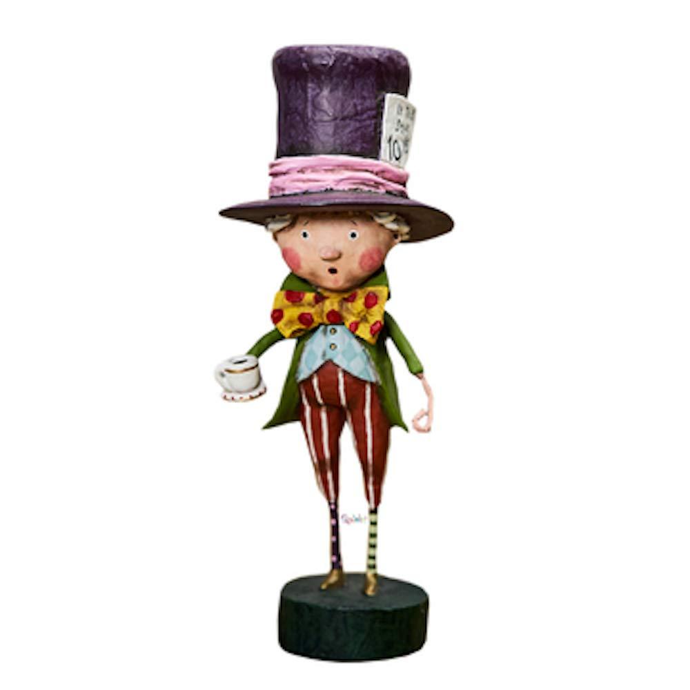 Lori Mitchell MAD Hatter Polyresin Alice Wonderland Tea Party 11128
