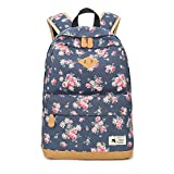 Canvas Casual Backpack for Women Student Backpack for Girls Laptop Backpack Travel Bag