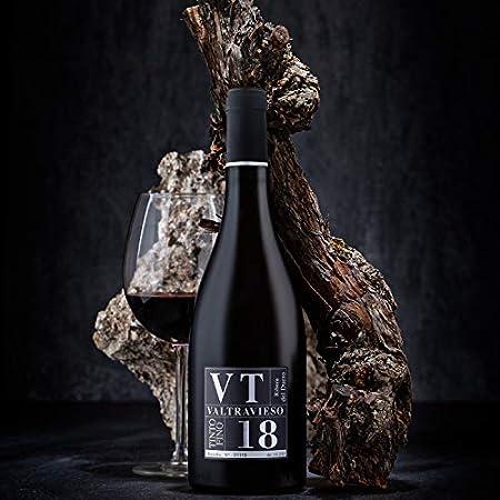Vino Tinto Ribera del Duero D.O. VT Tinto Fino Valtravieso| Pack de 2 Botellas 750 ml