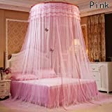 Climberty Mosquito Net Bed Canopy Fits Twin, Queen & King | Indoor/Outdoor Conical Double Bed Canopy Curtains I Home or Travel Use