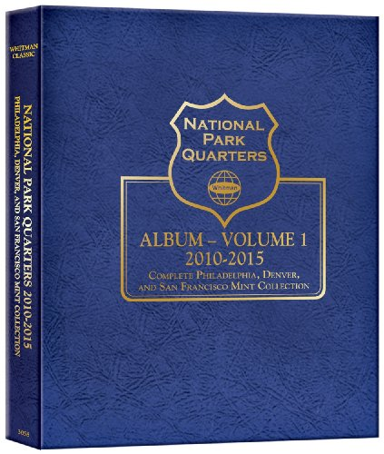 1: National Park Quarter P&d&s Mint Album Vol (Whitman State Quarter Album)