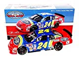 AUTOGRAPHED 1995 Jeff Gordon #24 DuPont Rainbow Racing DARLINGTON WIN Raced Version (2015 NASCAR Classics Series) Signed Lionel 1/24 NASCAR Diecast Car with COA (#0777 of only 1,536 produced!)