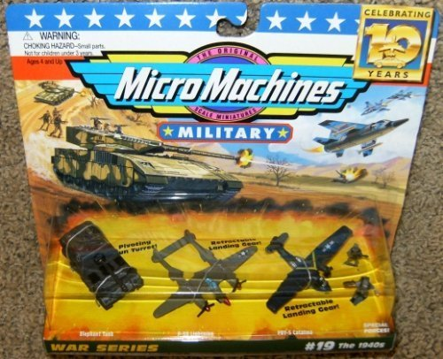 (Micro Machines Military War Series #19 the 1940's Collection)