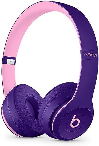 Beats Solo3 Wireless On-Ear Headphones – Beats Pop Collection – Pop Violet Renewed