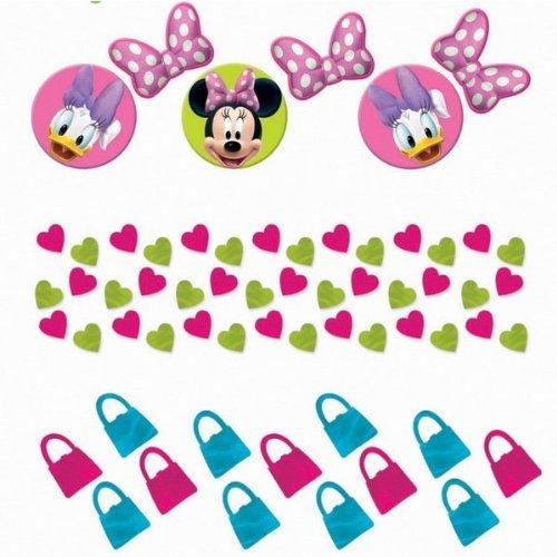 Disney Minnie Mouse Bow-tique Value Confetti (Multi-colored) Party Accessory]()