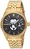 Invicta Men's 'Character Collection' Quartz Stainless Steel Casual Watch, Color Gold-Toned (Model: 24801)