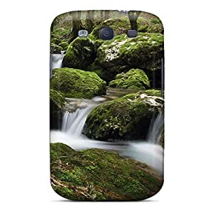 High-quality Durability Case For Galaxy S3(mossy Rocks)