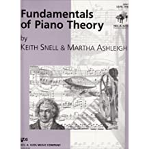 GP661 - Fundamentals of Piano Theory - Level 1