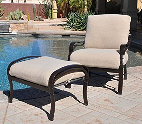 Double-tap to zoom - Amazon.com : CushyChic Outdoors Terry Slipcovers For Deep Seat Patio
