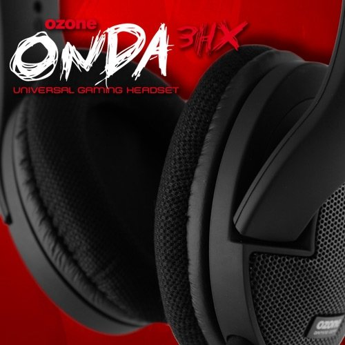 Ozone Onda 3HX - Auriculares con micrófono, Negro: Amazon.es: Informática