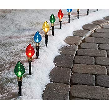 Amazon Com Prextex Christmas Candy Cane Pathway Markers