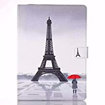 iPad Pro 9.7 Case,Gift_Source [Eiffel Tower] [Slim Fit] [Magnetic Closure] Luxury PU Leather Wallet Case Built-in Card Slots Folio Flip Case Cover For Apple iPad Air 3 / iPad Pro 9.7 inch