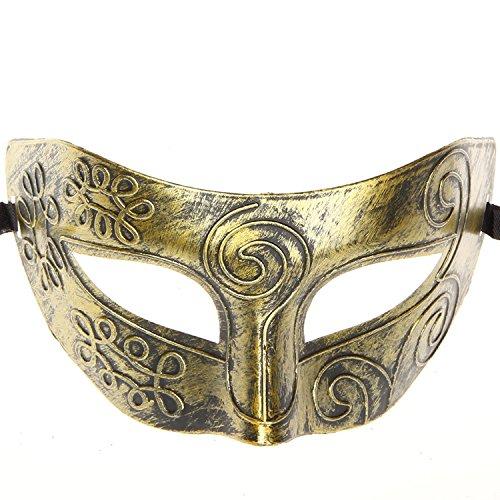 Hagora, Unisex 12 pcs Fine Multicolored Antique Design Masquerade Masks by Hagora (Image #4)