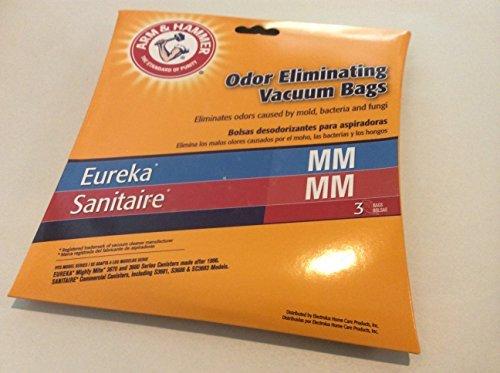 Arm & Hammer Odor Eliminating Vacuum Bags Eureka MM 3PK
