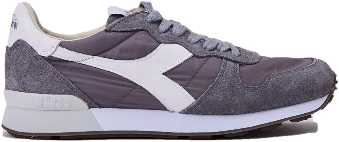 Diadora Heritage, Uomo, Camaro H Stone Wash Core, Nylon, Sneakers, Grigio
