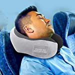 Pinacam-Products-Easy-to-USE-Travel-Neck-Pillow-100-Memory-Foam-to-Relax-and-Support-Head-Neck-Includes-Washable-Pillowcase-Bag-Eye-Mask-Earplugs-Removable-Velcro-Design-to-Stop-Distractions-3