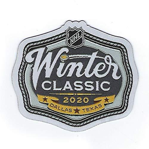 2020 NHL Winter Classic Woven Patch Dallas Texas Predators Dallas Stars Official