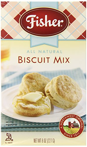 Fisher All Natural Biscuit Mix, 8-Ounce Boxes (Pack of 10)
