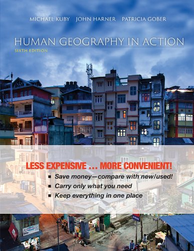 Human Geography In Action 6E Binder Ready Version  Wileyplus Registration Card