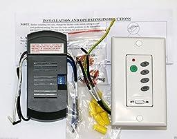 Wall Mount Fan Remote Control Kit