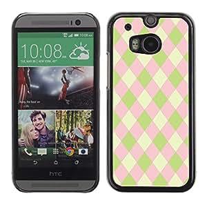 Dragon Case - FOR HTC One M8 - Beauty of pink - Caja protectora de pl??stico duro de la cubierta Dise?¡Ào Slim Fit