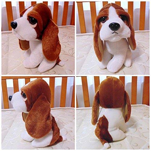 (Lovely Dog Stuffed Plush Animal Toy Stuffed & Plush Animals Little Basset Hound Dog Very Soft & Vivid & High Quality)