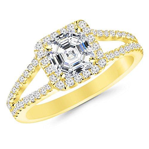 0.52 Ct Asscher Diamond - 7