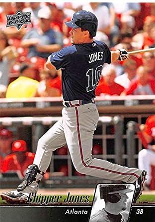 check out 180e5 702aa Amazon.com: 2010 Upper Deck Baseball #65 Chipper Jones ...