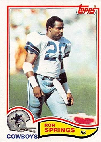 1982 Topps Football #325 Ron Springs Dallas Cowboys